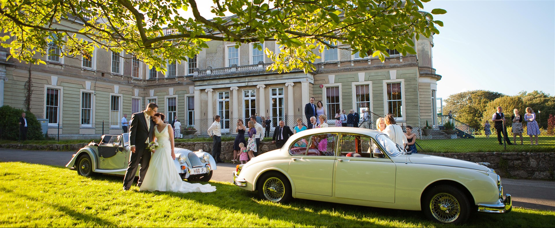 Wedding party Northwood House