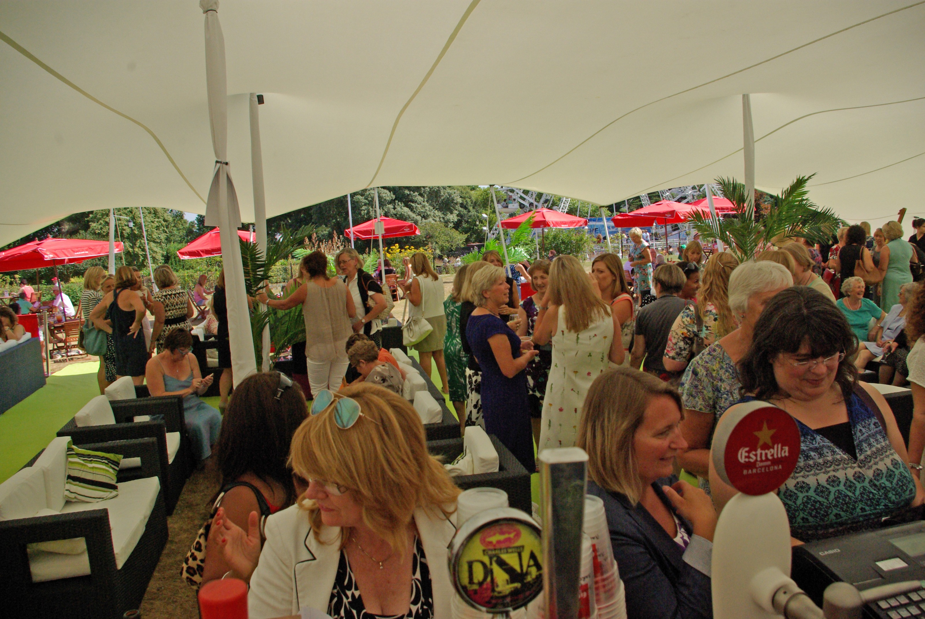 Lawn Lounge Marquee