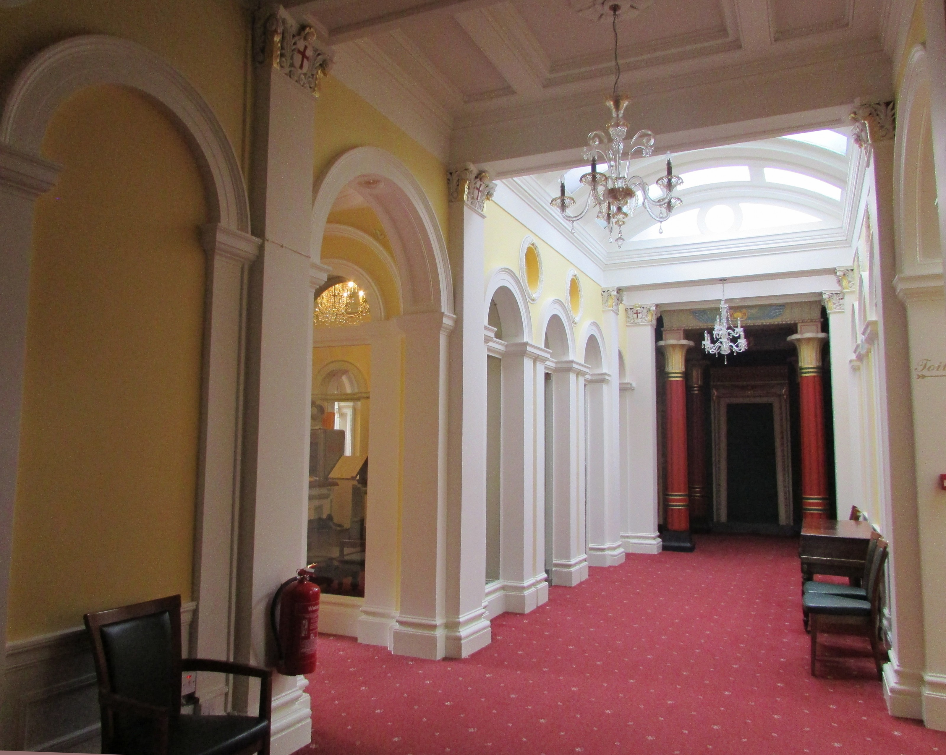 Northwood House interior hallway
