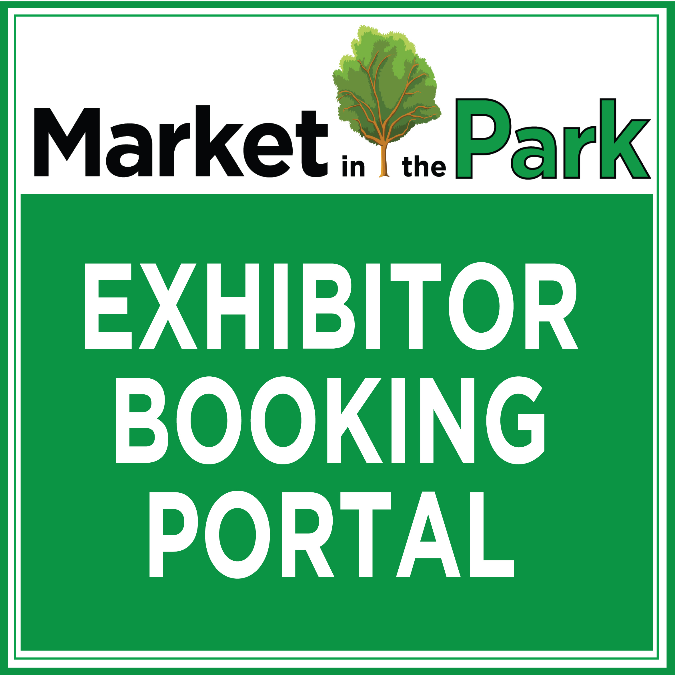 Market in the Park- Exhibitor booking portal